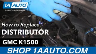 How to Replace Distributor 96-99 GMC Sierra K1500