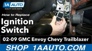 How to Replace Ignition Starter Switch 02-06 GMC Envoy XL