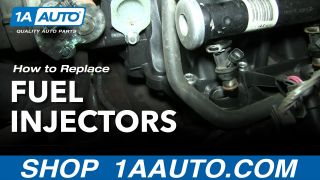 How to Replace Fuel Injectors 01-06 Chevy Suburban