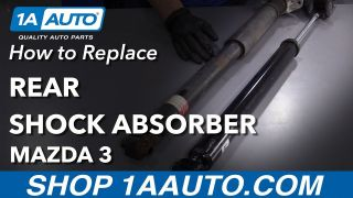 1ASSP00232-Mazda 3 5 Rear Shock Absorber Set