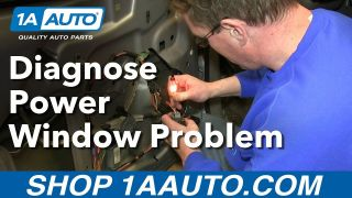 How To Diagnose Power Window Problem - Is the Switch or Motor bad