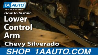 How to Replace Lower Control Arm 00-06 Chevy Suburban 1500