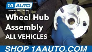 How to Replace Front Wheel Hub Assembly on any Car Truck or SUV