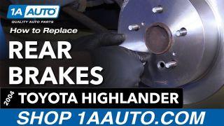 For 2004-2007 Toyota Highlander Front Rear Slotted Brake Rotors+Ceramic Pads