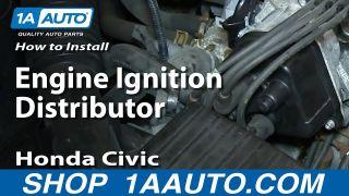 Honda Civic Civic Del Sol Acura EL Distributor DIY Solutions1A Auto