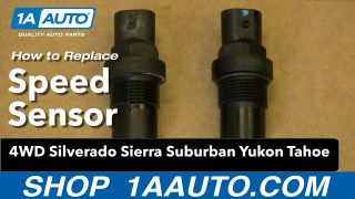 How to Replace Vehicle Speed Sensor 00-10 Chevy Suburban