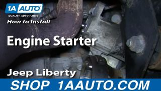 How To Replace Engine Starter 02-07 Jeep Liberty