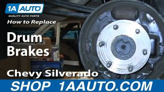 How to Replace Brake Drums 09-13 Chevy Silverado 1500