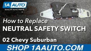 How to Replace Neutral Safety Switch 00-03 Chevy Suburban 1500
