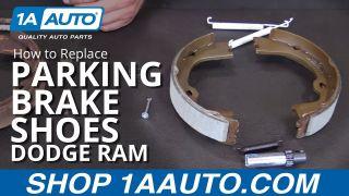 How to Replace Parking Brake Shoe Hardware 07-10 Dodge Ram