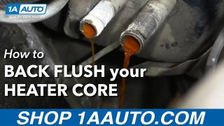 How to Back Flush Your Heater Core by Yourself