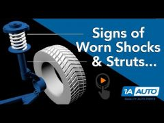 How to Tell Shocks and Struts Are Worn - Guide to Test Signs and Symptoms