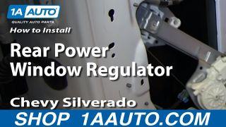 W// Motor Power Perfect Fit Group REPG491701 Sierra P//U // Yukon Xl Rear Window Regulator RH