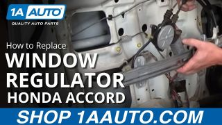 How to Replace Window Regulator 94-97 Honda Accord
