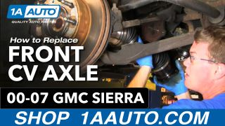 How To Replace Front CV Axle 01-10 GMC Sierra 2500 HD