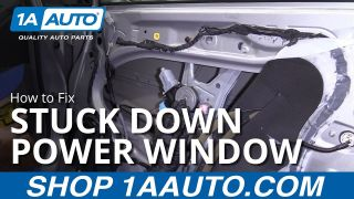 Car Window Stuck Down - How to Fix Power Window
