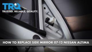 96301JA04A NI1321163 Right New Mirror Passenger Side RH Hand Sedan for Altima