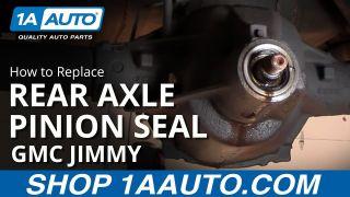 How to Replace Rear Axle 98-09 Chevy Trailblazer   1A Auto