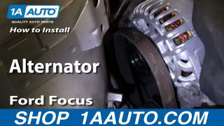How to Replace Alternator 00-04 Ford Focus