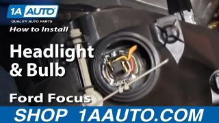 How to Replace Headlights & Bulbs 02-04 Ford Focus