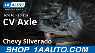 How To Replace Front CV Axles 07-17 Chevy Silverado