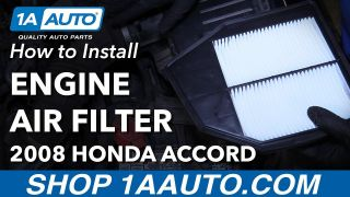 How to Replace Engine Air Filter 03-17 Honda Accord