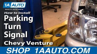 Fits 1997-2005 Chevrolet Oldsmobile Passenger Right Side Marker Light Assembly
