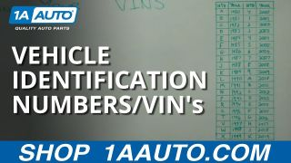 Decoding and Understanding Vehicle Identification Numbers  VINs