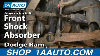 How to Replace Front Shocks 02-05 Dodge Ram 1500