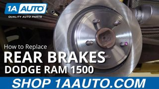 How to Replace Rear Brakes 02-10 Dodge Ram 1500