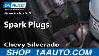 How to Replace Spark Plugs 01-09 GMC Sierra 2500 6.0L