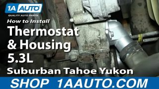 How to Replace Thermostat & Housing 00-06 Chevy Suburban