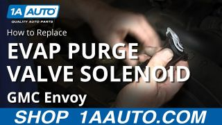 How to Replace Vapor Canister Purge Solenoid Valve 03-04 GMC Envoy XL
