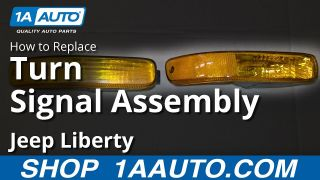 TYC 18-5837-01 Jeep Liberty Front Passenger Side Replacement Parking//Signal Lamp Assembly