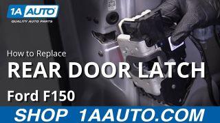 Ford F150 Crew Cab Rear Door Latch New OEM Part 9L3Z 5426413 A Left LH