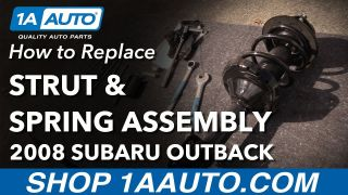 How to Replace Front Strut Assembly  05-09 Subaru Outback