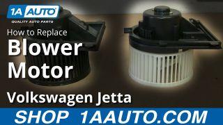 How To Replace Blower Motor 99-05 Volkswagen Jetta