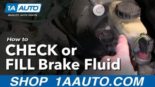 Auto Repair How Do I Check or Add Brake Fluid to My Car or Truck
