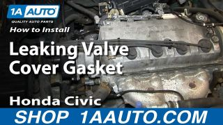 How to Replace Valve Cover Gasket Set 96-00 Honda Civic