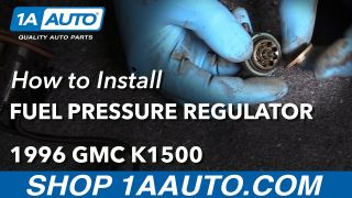 How to Replace Fuel Pressure Regulator 88-98 GMC K1500