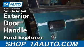 How to Replace Exterior Door Handle 98-01 Ford Explorer