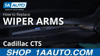 How to Remove Wiper Arms 03-07 Cadillac CTS
