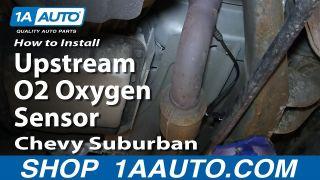 How To Replace Upstream O2 Oxygen Sensor 00-02 Chevy Suburban