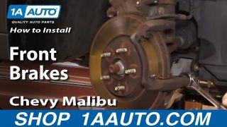2010 2011 2012 for Chevrolet Malibu Brake Rotors and Pads 296mm Rotors Front