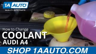 How to Change Coolant 04-09 Audi A4