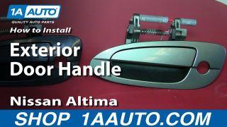 How to Replace Exterior Door Handle 02-06 Nissan Altima