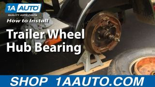 How To Replace Trailer Wheel Hub  Bearings