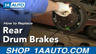 How to Replace Rear Drum Brakes 96-00 Chevy Tahoe