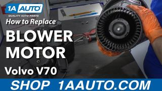 1AHCX00145-Volvo S60 S80 V70 XC70 XC90 Heater Blower Motor with Fan Cage