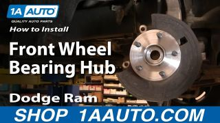 How to Replace Wheel Bearing & Hub Assembly 02-08 Dodge Ram 1500